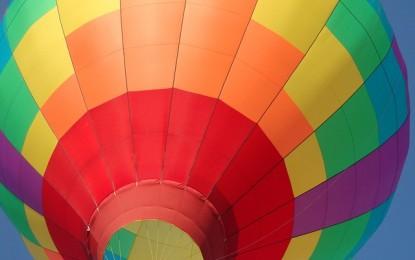 Un zbor cu balonul