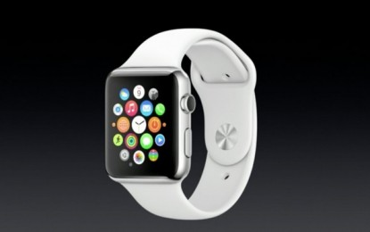 Lansarea Apple Watch